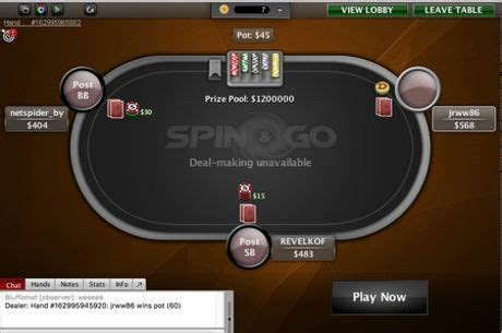 Bonus pokerstars spin and go jpg 460x305